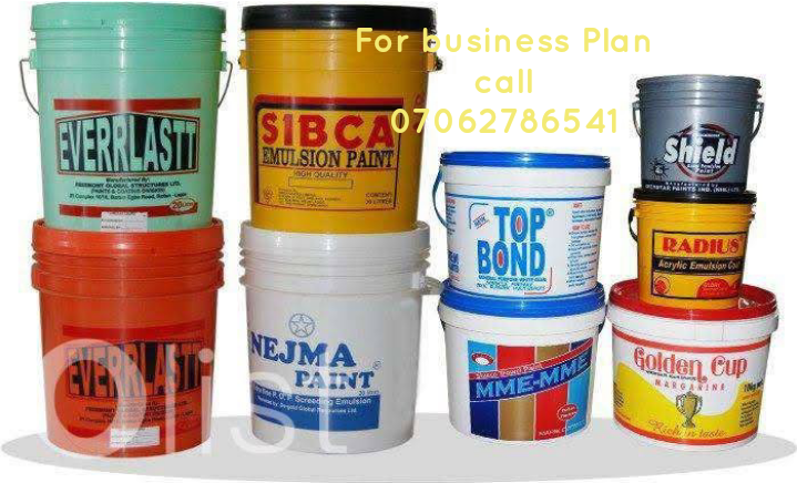 Paint Production Business Plan In Nigeria Latest Feasibility Study 2020